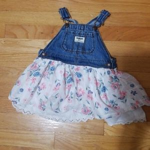 18-24 month overall dress